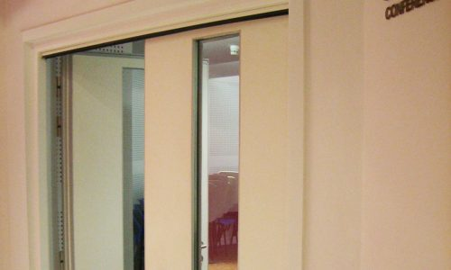 To complement our acoustic operable wall systems we also provide high performance sound retardant door to use as pass doors when the movable wall is ... & Sound Retardant Door - Wattana Company