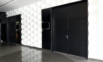 ACOUSTIC AND FIRE RETARDANT DOOR